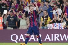 Messi 'not thinking' about looming La Liga scoring record