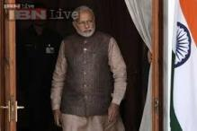 PM Narendra Modi meets NDA MPs, tells them to think big, far and above politics