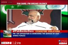 PM Modi asks rivals not to politicise Pakistan firing