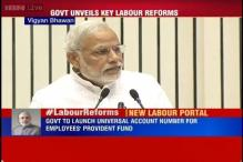 PM Modi unveils 'Shramev Jayate Yojana' to revamp labour reforms and ease the 'Make in India' call