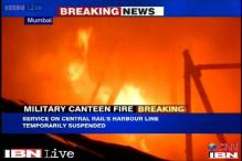 Mumbai: Major fire at a military canteen, no reports of casualties