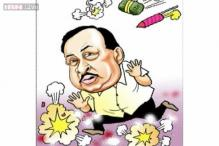 Election Cartoons: Congress's Narayan Rane after losing his seat