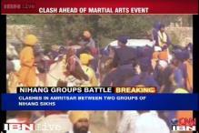 Amritsar: Clashes erupt between Nihang Sikhs, three injured