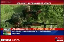 Protests in Delhi over Pakistan ceasefire violations