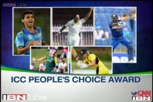 Bhuvneshwar leads India's challenge in ICC People's Choice Award