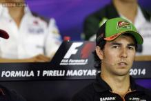 Force India's Sergio Perez looking forward to Russian Grand Prix