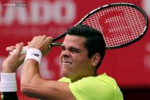 Top-seeded Milos Raonic eliminated at Kremlin Cup