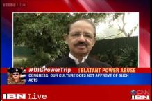 J&K DIG 'abuse of power' pictures: Very unfortunate, our culture doesn't approve of it, says Alvi