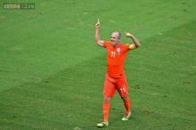 Frustrated Robben pleased to be back on international duty