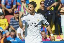 Ronaldo brace helps Real Madrid thrash Levante 5-0