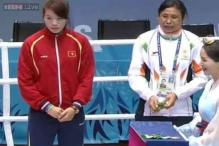 Asian Games: Sarita Devi refuses to wear her bronze medal in protest