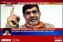 I won't sit till I free every child from the clutches of slavery, says Nobel Peace Prize winner Kailash Satyarthi