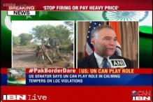 US Senator says UN can play role in calming tempers on LoC violations