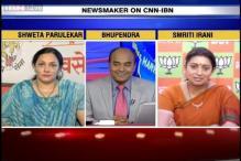 BJP achieved its goal of a Congress free Maharashtra and Haryana, says Smriti Irani