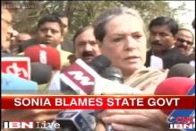 Congress gave Haryana peace, security: Sonia Gandhi in Sirsa rally