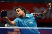Asian Games: Soumyajit Ghosh wins, Sharath Kamal loses in table tennis
