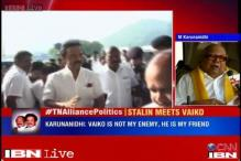 DMK treasurer Stalin meets MDMK's Vaiko fueling speculation of alliance ahead of 2016 TN Assembly polls