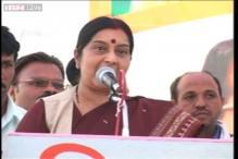 BJP will win comfortably in Haryana: Sushma Swaraj