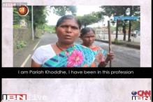 Watch: The plight of sweepers in India