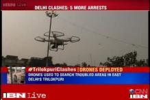 Trilokpuri clashes: Police use drones to survey area, recover stone bags