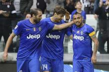 Juventus beat Palermo 2-0 to extend Serie A lead