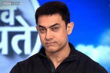 Aamir Khan shoots for 'Mumkin Hai' in Agra