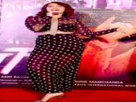 Photos: Sonakshi Sinha dances, giggles, promotes her new song 'Radha Nachegi' from 'Tevar'