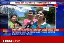 Garba dancers gear up to perform for PM Modi in Sydney