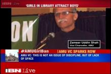 AMU Pro-Vice Chancellor defends not allowing girls into the library, says more boys will flock