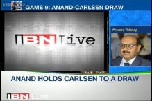 World Chess Championship: Anand makes easy draw but Carlsen closer to title