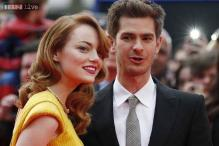 Andrew Garfield attends girlfriend Emma Stone's Broadway debut