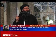 Islamic State releases Baghdadi's speech