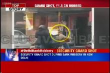 Delhi: Bank cash van robbed of Rs 1.5 crore, guard shot at remains critical