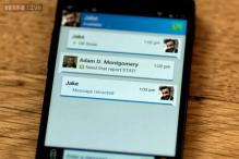 BBM users can now delete messages from chats, send self-destructing messages