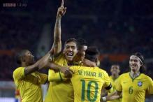 Firmino strike gives Brazil sixth straight win under Dunga