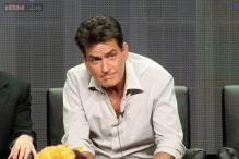 Charlie Sheen's ex-fiancee hospitalised