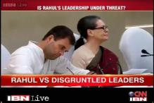 As Rahul Gandhi proposes to restructure Congress, voice of dissent grows louder