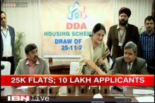 25,000 winners allotted houses in DDA's mega housing scheme 2014 draw