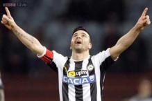 Unsung Antonio Di Natale scores 200th Serie A goal