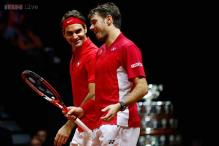 Switzerland take 2-1 lead over France in Davis Cup final
