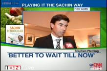 Playing it the Sachin way: Stephen Fleming on Sachin's autobiography