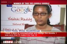 On Children's Day, 15-year-old Vaidehi Reddy wins Doodle 4 Google - India