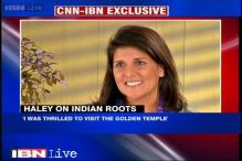 Thrilled to visit the Golden Temple: South Carolina Governor Nikki Haley