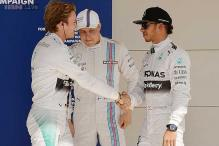 Rosberg edges Hamilton for pole at United States Grand Prix