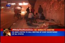 SC asks Centre, states to find ways to provide temporary shelters to homeless person