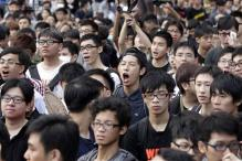 Anger in Hong Kong as protesters compared to slaves