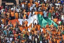 Watch: Mad celebrations by Ivory Coast fans put players, crowd safety in danger