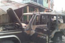 Siliguri: Police lathicharge on angry mob protesting construction of a crematorium