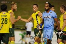 Australia thrash India 4-0 in the first hockey Test