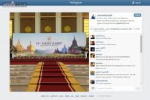 PM Modi debuts on Instagram, posts picture from Myanmar